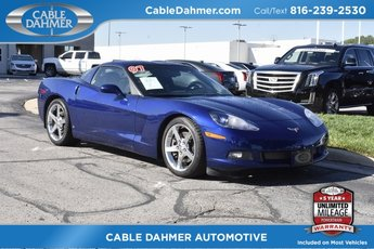 2007 Chevy Corvette Base 2 Door Coupe Automatic RWD