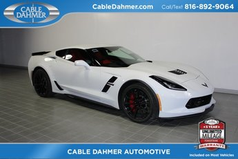 2019 Arctic White Chevrolet Corvette Grand Sport 2LT Automatic Coupe RWD 6.2L V8 Engine 2 Door