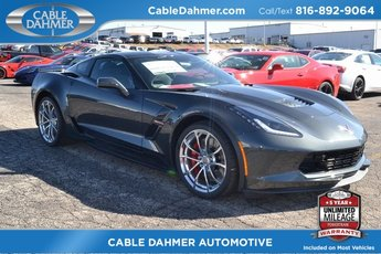 2019 Gray Metallic Chevrolet Corvette Grand Sport 2LT Automatic 2 Door Coupe