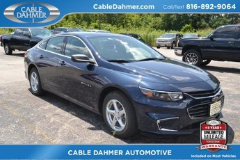2018 Blue Velvet Metallic Chevrolet Malibu LS 1.5L DOHC Engine 4 Door FWD Automatic Sedan