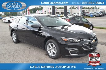 2018 Mosaic Black Metallic Chevrolet Malibu LS 1.5L DOHC Engine Automatic FWD