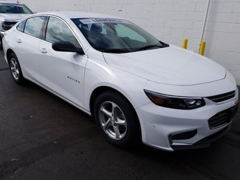 2018 Chevy Malibu LS 4 Door Automatic 1.5L DOHC Engine