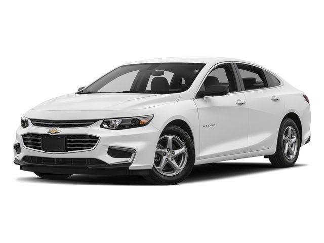 2018 Summit White Chevrolet Malibu LS 1.5L DOHC Engine 4 Door FWD Sedan Automatic