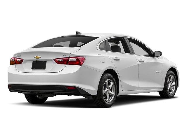 2018 Summit White Chevrolet Malibu LS FWD Sedan 4 Door 1.5L DOHC Engine Automatic