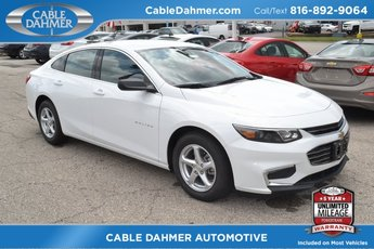 2018 Chevy Malibu LS 4 Door Sedan Automatic FWD 1.5L DOHC Engine