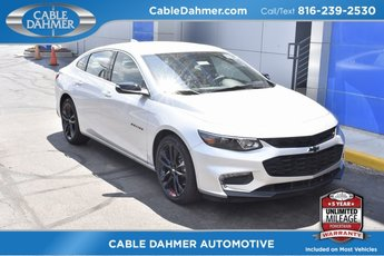 2018 Silver Ice Metallic Chevy Malibu LT FWD 1.5L DOHC Engine Sedan 4 Door Automatic