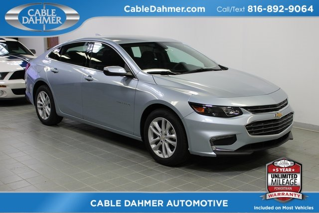 2018 Arctic Blue Metallic Chevy Malibu LT Automatic 4 Door FWD Sedan