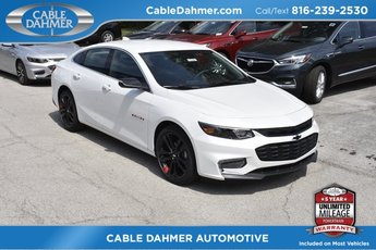 2018 Chevy Malibu LT 1.5L DOHC Engine 4 Door Sedan FWD