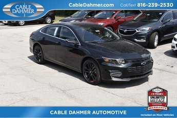 2018 Mosaic Black Metallic Chevrolet Malibu LT Automatic 4 Door 1.5L DOHC Engine Sedan