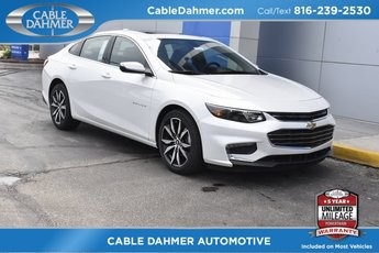 2018 Iridescent Pearl Tricoat Chevy Malibu LT 4 Door Sedan Automatic 1.5L DOHC Engine FWD