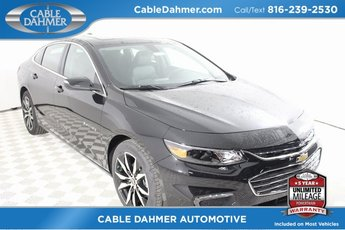 2018 Mosaic Black Metallic Chevy Malibu LT 4 Door 1.5L DOHC Engine Sedan FWD
