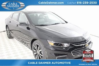 2018 Chevy Malibu LT 4 Door Sedan Automatic 1.5L DOHC Engine FWD