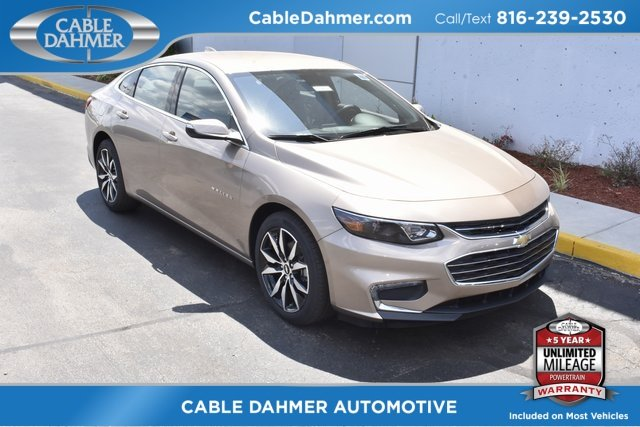 2018 Sandy Ridge Metallic Chevrolet Malibu LT 4 Door 1.5L DOHC Engine Automatic Sedan