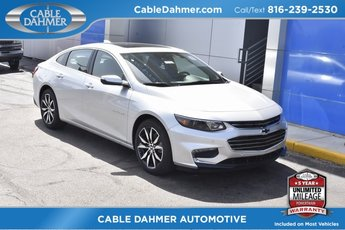 2018 Silver Ice Metallic Chevrolet Malibu LT Sedan Automatic 1.5L DOHC Engine
