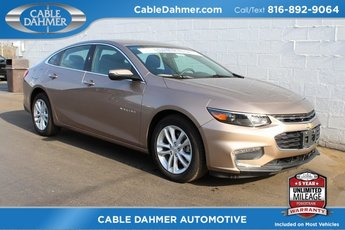 2018 Sandy Ridge Metallic Chevy Malibu LT 1.5L DOHC Engine 4 Door FWD Automatic Sedan