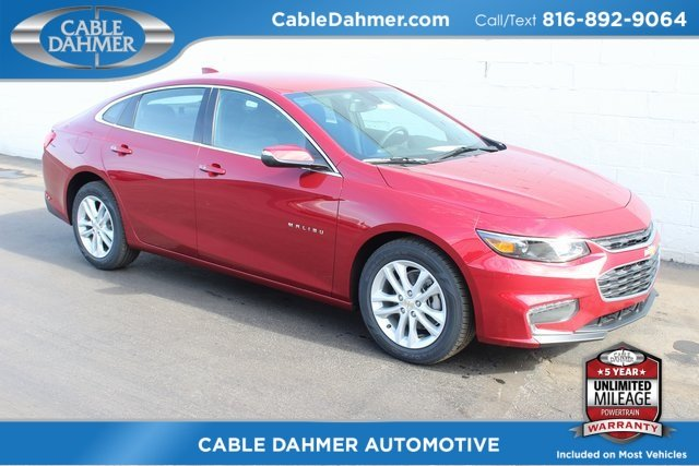 2018 Cajun Red Tintcoat Chevrolet Malibu LT 4 Door Sedan Automatic FWD 1.5L DOHC Engine