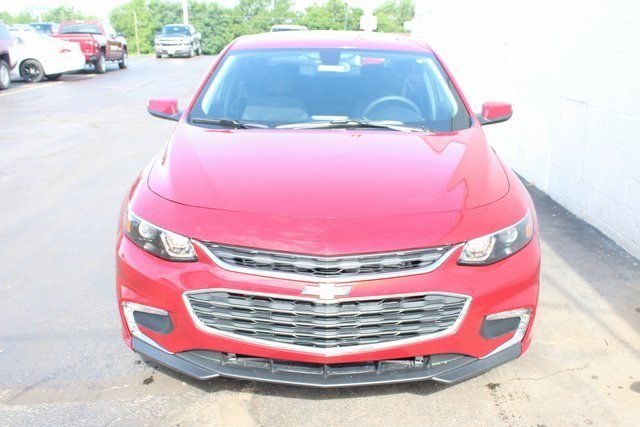 2018 Cajun Red Tintcoat Chevrolet Malibu LT 1.5L DOHC Engine Automatic Sedan