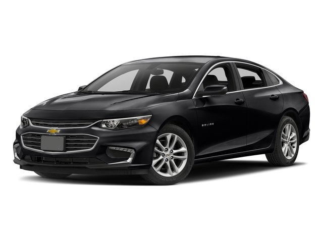 2018 Mosaic Black Metallic Chevrolet Malibu LT Sedan FWD 1.5L DOHC Engine