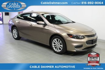 2018 Sandy Ridge Metallic Chevy Malibu LT 4 Door Automatic FWD 1.5L DOHC Engine Sedan