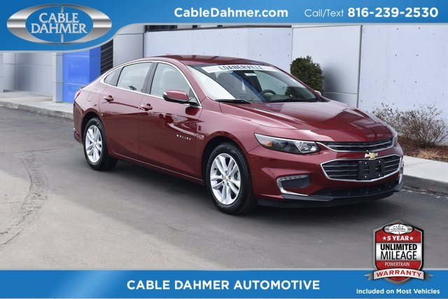2018 Cajun Red Tintcoat Chevy Malibu LT 4 Door Sedan Automatic FWD 1.5L DOHC Engine