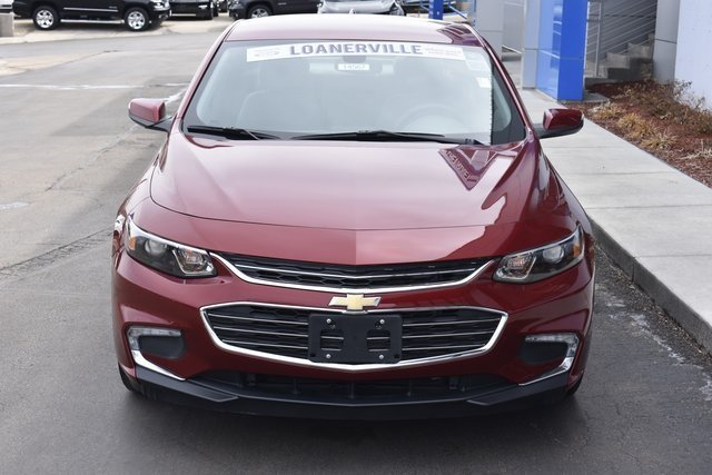 2018 Cajun Red Tintcoat Chevy Malibu LT 4 Door FWD 1.5L DOHC Engine Sedan Automatic