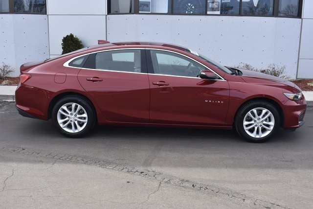 2018 Cajun Red Tintcoat Chevy Malibu LT Automatic Sedan FWD