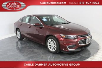 2016 Red Chevrolet Malibu LT FWD 1.5L DOHC Engine Sedan Automatic 4 Door