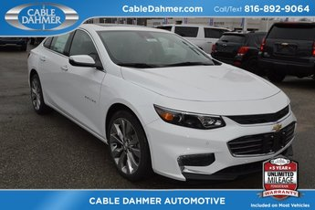 2018 Chevrolet Malibu Premier Automatic 2.0L 4-Cylinder DGI DOHC VVT Turbocharged Engine FWD 4 Door Sedan
