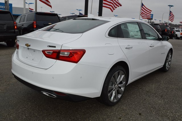 2018 Chevy Malibu Premier FWD Sedan 2.0L 4-Cylinder DGI DOHC VVT Turbocharged Engine Automatic