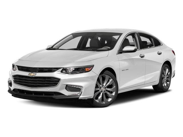 2018 Chevy Malibu Premier 2.0L 4-Cylinder DGI DOHC VVT Turbocharged Engine FWD Automatic Sedan 4 Door