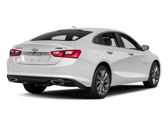2018 Summit White Chevy Malibu Premier Sedan 4 Door FWD Automatic 2.0L 4-Cylinder DGI DOHC VVT Turbocharged Engine