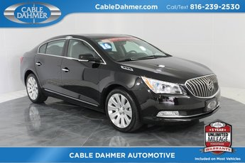 2016 Black Buick LaCrosse Leather 4 Door Automatic AWD