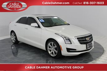 2015 Crystal White Tricoat Cadillac ATS Luxury RWD Automatic RWD 4 Door 2.5L I4 DI DOHC VVT Engine