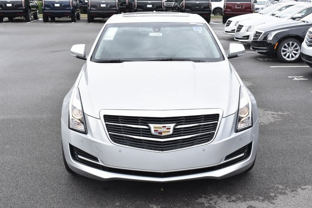 2018 Radiant Silver Metallic Cadillac ATS Luxury AWD Sedan 4 Door AWD Automatic 2.0L 4-Cylinder Turbocharged Engine