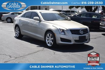 2014 Cadillac ATS Luxury AWD 2.0L Turbo I4 DI DOHC VVT Engine Sedan Automatic AWD 4 Door