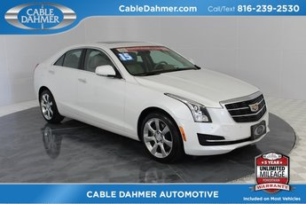 2015 Cadillac ATS Luxury AWD 2.0L Turbo I4 DI DOHC VVT Engine AWD 4 Door