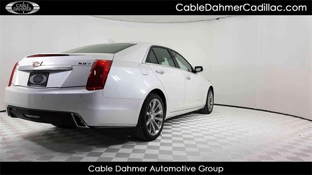 2018 Cadillac CTS Luxury RWD Automatic 2.0L 4-Cylinder Turbocharged Engine 4 Door