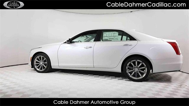 2018 Cadillac CTS Luxury RWD 4 Door 2.0L 4-Cylinder Turbocharged Engine Automatic