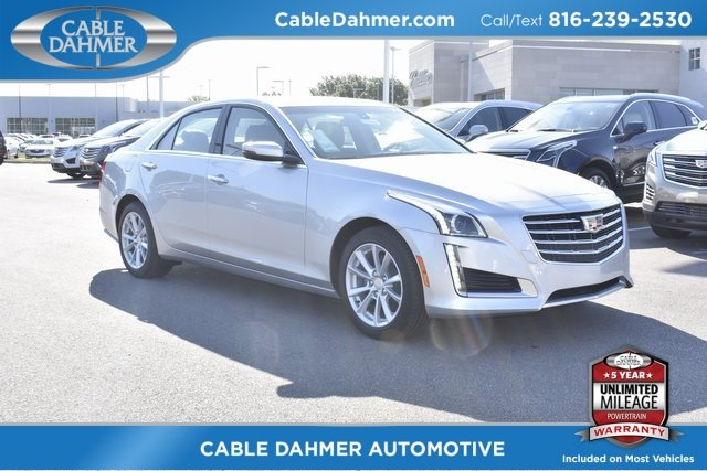 2018 Radiant Silver Metallic Cadillac CTS AWD Automatic 4 Door Sedan