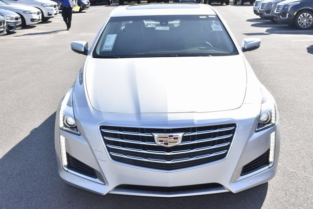 2018 Cadillac CTS AWD 2.0L 4-Cylinder Turbocharged Engine AWD 4 Door Automatic Sedan