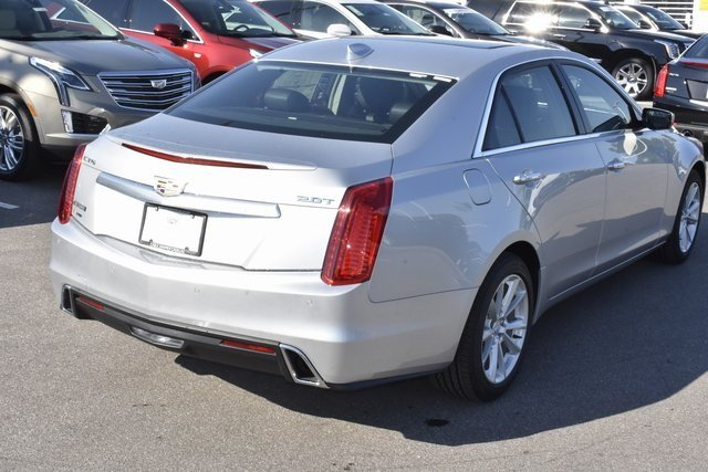 2018 Radiant Silver Metallic Cadillac CTS AWD AWD 4 Door 2.0L 4-Cylinder Turbocharged Engine Automatic