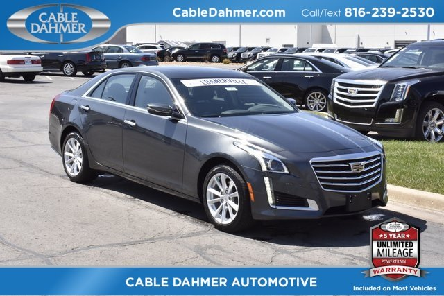 2018 Cadillac CTS AWD 2.0L 4-Cylinder Turbocharged Engine AWD Automatic 4 Door