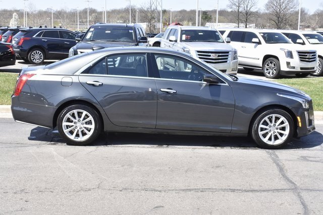 2018 Cadillac CTS AWD AWD 4 Door Automatic 2.0L 4-Cylinder Turbocharged Engine