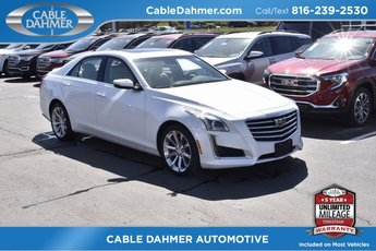 2018 Crystal White Tricoat Cadillac CTS Luxury AWD AWD 4 Door 3.6L 6-Cylinder Engine Automatic