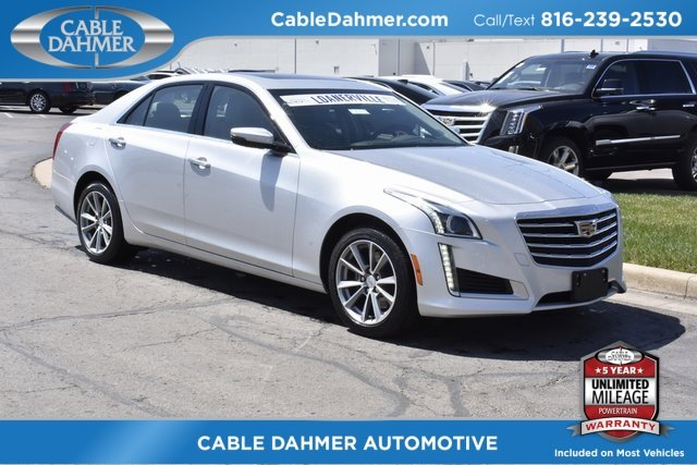 2018 Radiant Silver Metallic Cadillac CTS Luxury AWD Automatic AWD 2.0L 4-Cylinder Turbocharged Engine