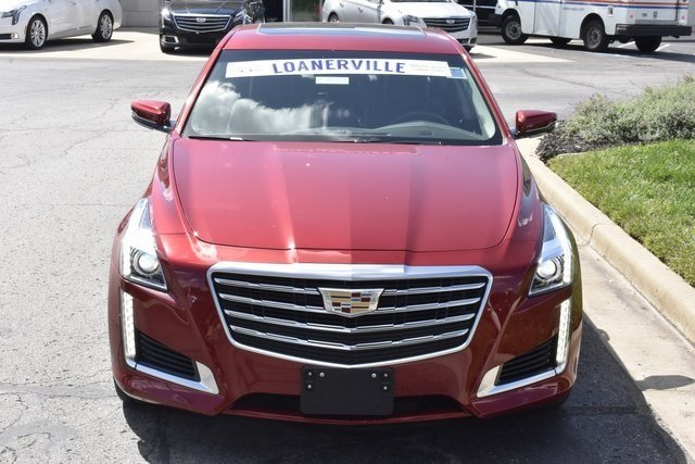 2018 Cadillac CTS Luxury AWD AWD 2.0L 4-Cylinder Turbocharged Engine Automatic Sedan