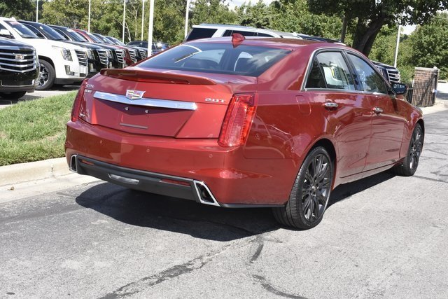 2018 Cadillac CTS Luxury AWD Automatic Sedan AWD 2.0L 4-Cylinder Turbocharged Engine 4 Door
