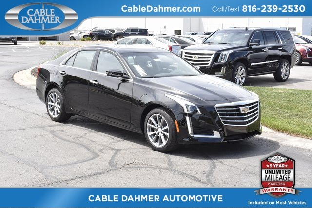2018 Cadillac CTS Luxury AWD Automatic Sedan 2.0L 4-Cylinder Turbocharged Engine
