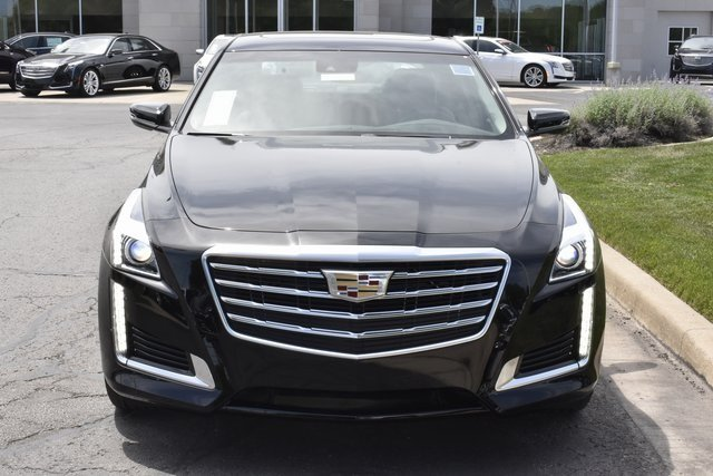 2018 Black Raven Cadillac CTS Luxury AWD Sedan AWD 2.0L 4-Cylinder Turbocharged Engine