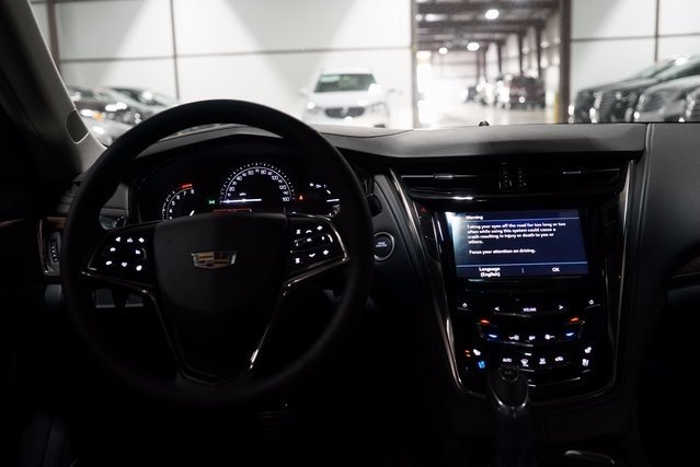2018 Cadillac CTS Luxury AWD AWD Sedan 2.0L 4-Cylinder Turbocharged Engine 4 Door Automatic
